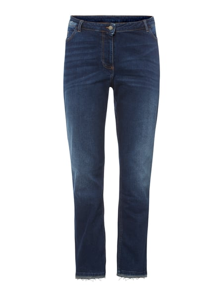 Persona by Marina Rinaldi PLUS SIZE Perfect Fit Jeans im Used Look Blau - 1