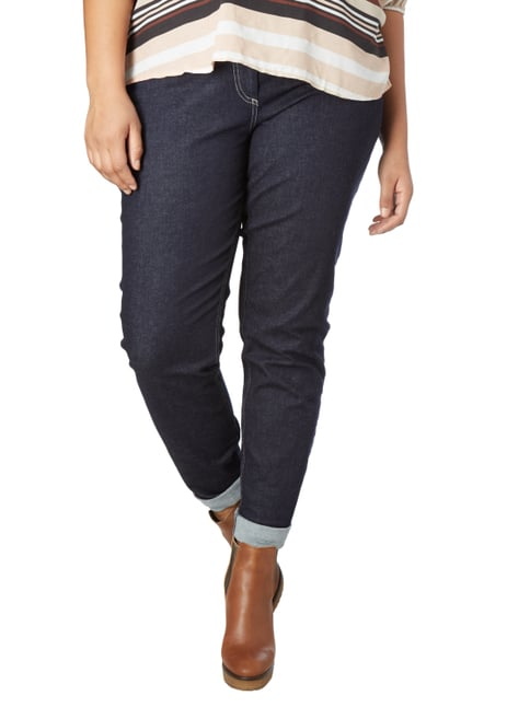Persona by Marina Rinaldi PLUS SIZE - Rinsed Washed 5-Pocket-Jeans Jeans - 1