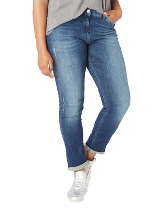 Persona by Marina Rinaldi PLUS SIZE - Used Shaping Fit Jeans Marineblau - 1