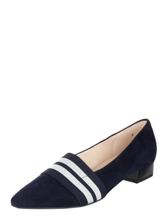 PETER KAISER Pumps aus Veloursleder Blau - 1