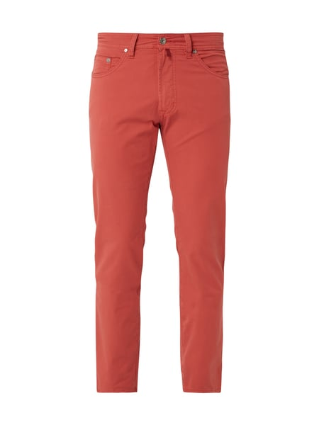 Pierre Cardin 5-Pocket-Hose mit Stretch-Anteil Rot - 1