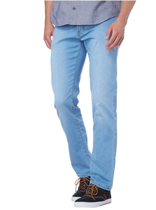 Pierre Cardin Light Stone Washed Regular Fit Jeans Hellblau - 1