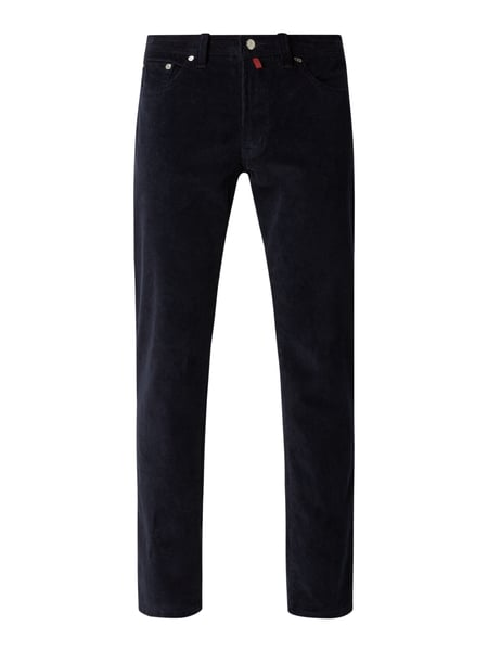 Pierre Cardin Regular Fit Cordhose mit Stretch-Anteil Blau - 1
