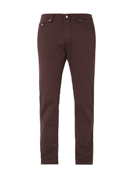 Pierre Cardin Regular Fit Hose mit Stretch-Anteil Rot - 1