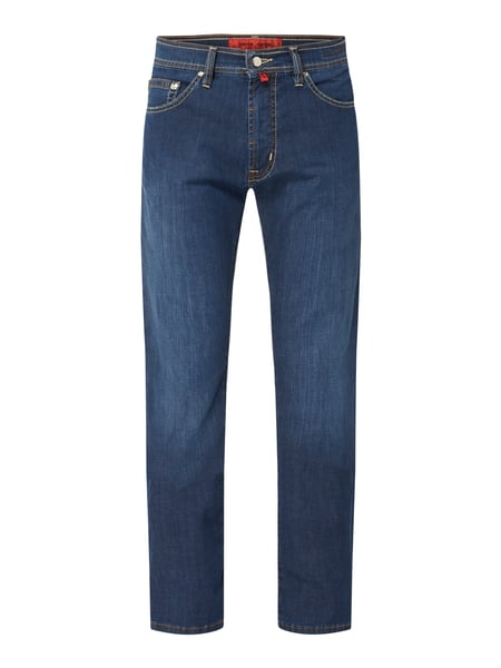 Pierre Cardin Regular Fit Jeans mit Label-Patch Blau - 1