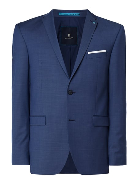 Pierre Cardin Regular Fit Sakko mit Stretch-Anteil Modell 'Andre' - 'Future Flex' Blau - 1