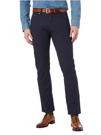 Pierre Cardin Slim Fit 5-Pocket-Hose mit Stretch-Anteil Marineblau - 1