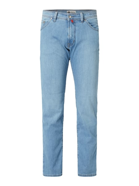 Pierre Cardin Stone Washed Regular Fit Jeans Blau - 1