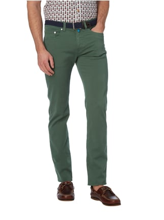 Pierre Cardin Tapered Fit 5-Pocket-Hose mit Stretch-Anteil Grün - 1