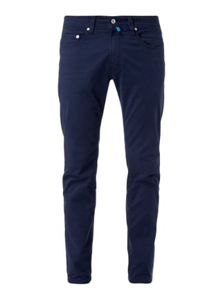 Tapered Fit 5-Pocket-Hose mit Stretch-Anteil Blau / Türkis - 1