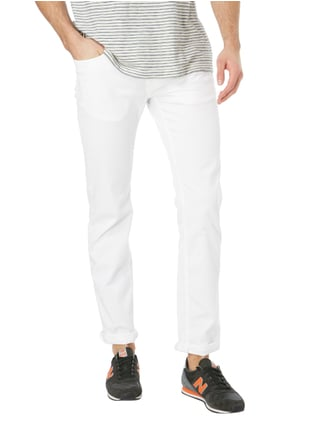 Pierre Cardin Tapered Fit 5-Pocket-Hose mit Stretch-Anteil Weiß - 1