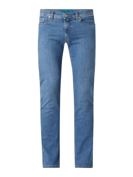 Pierre Cardin Tapered Fit Jeans mit hohem Stretch-Anteil Modell 'Lyon' - 'Futureflex' Blau - 1
