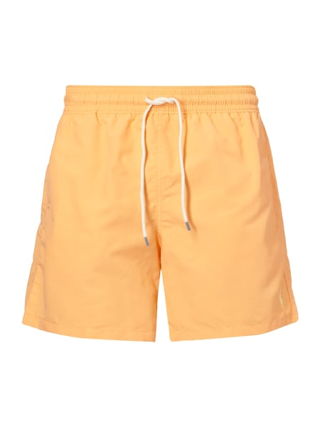 Polo Ralph Lauren Badeshorts mit Logo-Stickerei Orange