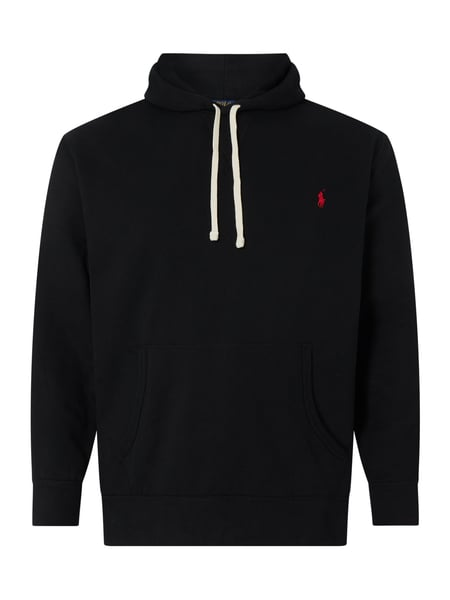 Polo Ralph Lauren Big & Tall PLUS SIZE Hoodie mit Logo-Stickerei Schwarz - 1