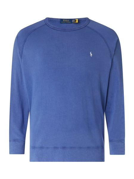 Polo Ralph Lauren Big & Tall PLUS SIZE Sweatshirt aus Baumwolle Blau - 1