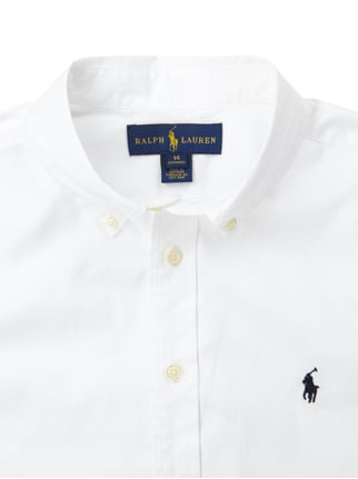Custom Fit Hemd mit Button-Down-Kragen Ralph Lauren Childrenswear online kaufen - 1