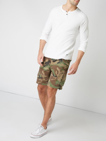 Polo Ralph Lauren Classic Fit Cargoshorts mit Camouflage-Muster in Grün - 1 ee7031ce83