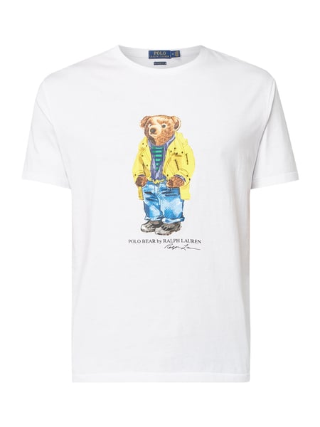 Polo Ralph Lauren Classic Fit T-Shirt mit Polo Bear Weiß - 1