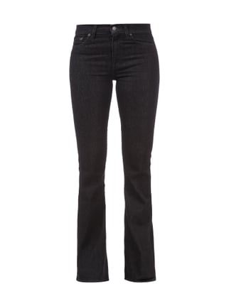 Coloured Jeans im Boot Cut Grau / Schwarz - 1
