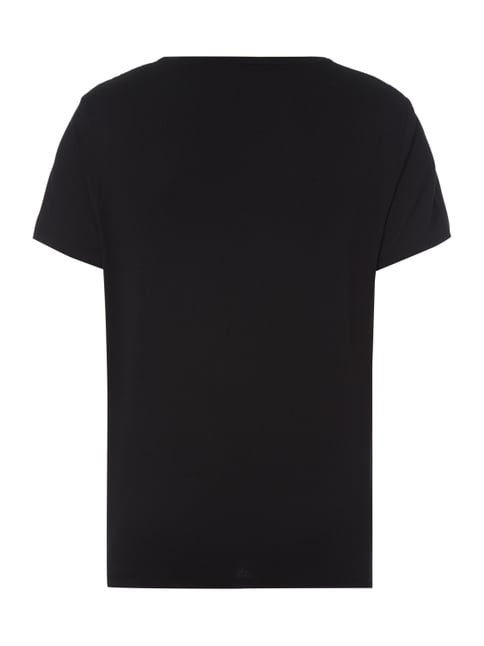 Polo Ralph Lauren Custom Fit T-Shirt mit Logo-Stickerei Schwarz - 1