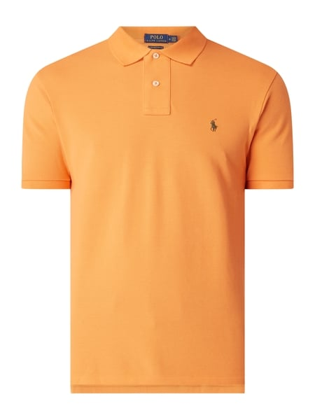 Polo Ralph Lauren Custom Slim Fit Poloshirt aus Baumwolle Orange - 1