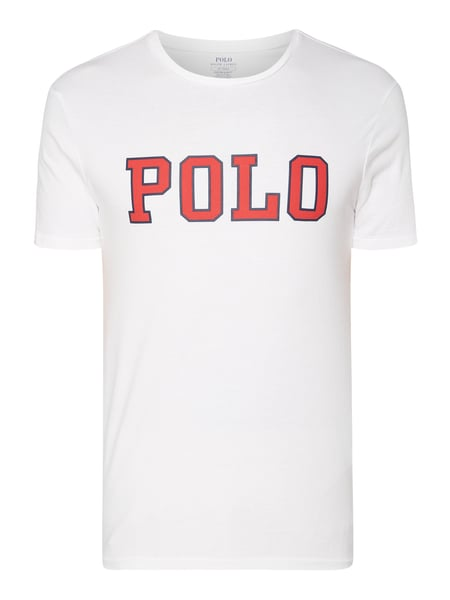Polo Ralph Lauren Custom Slim Fit T-Shirt aus Baumwolle Weiß - 1