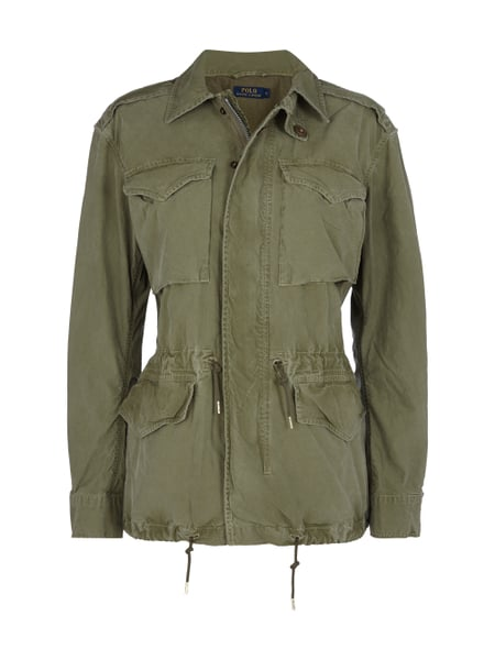 look good shoes sale how to buy outlet POLO-RALPH-LAUREN Fieldjacket mit Umlegekragen in Grün ...