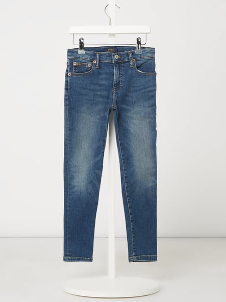 Polo Ralph Lauren Kids Skinny Fit Jeans mit Stretch-Anteil Modell 'Eldridge' Blau - 1