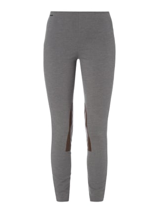 Leggings mit Patches Grau / Schwarz - 1