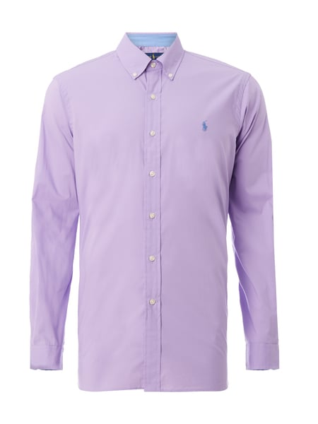 reputable site 3762b 67b12 Modern Fit Hemd mit Button-Down-Kragen