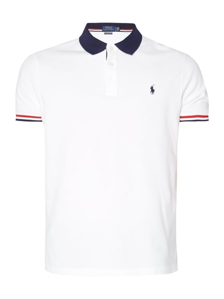 5f682e8d868d4f ... cheapest polo ralph lauren poloshirt mit logo stickerei weiß 1 2bed7  f2109