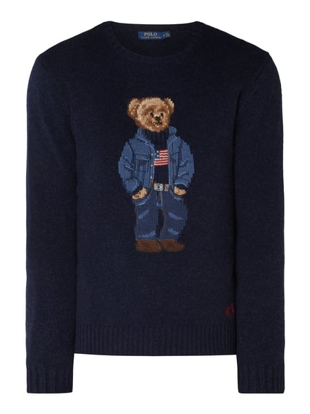 Polo Ralph Lauren Pullover Mit Polo Bear In Blau Turkis Online