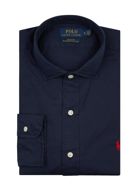 Polo Ralph Lauren Regular Fit Freizeithemd aus Twill Blau - 1