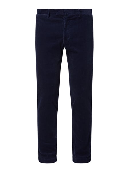 Polo Ralph Lauren Slim Fit Chino aus Cord Blau - 1