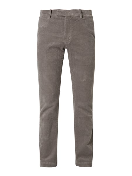 Polo Ralph Lauren Slim Fit Chino aus Cord Grau - 1