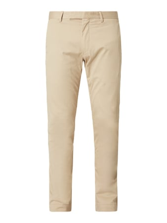 Polo Ralph Lauren Slim Fit Chino mit Stretch-Anteil Weiß - 1