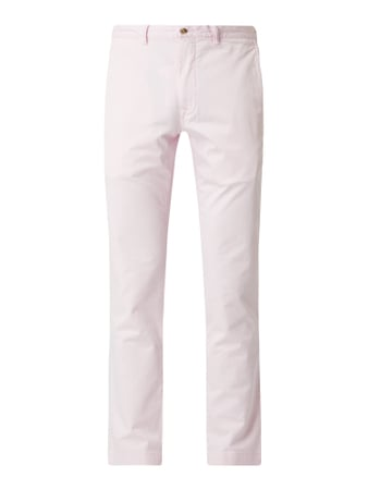 Polo Ralph Lauren Slim Fit Chino mit Stretch-Anteil Modell 'Bedford' Rosa - 1