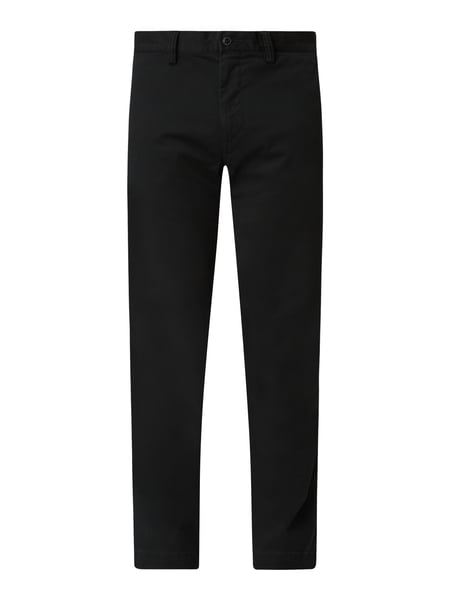 Polo Ralph Lauren Slim Fit Chino mit Stretch-Anteil Modell 'Bedford' Schwarz - 1