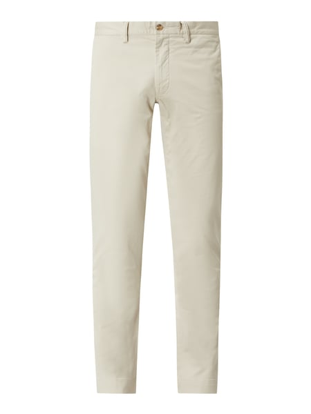 Polo Ralph Lauren Slim Fit Chino mit Stretch-Anteil Modell 'Bedford' Grau - 1
