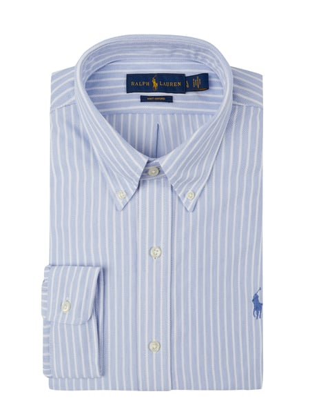 Polo Ralph Lauren Slim Fit Freizeithemd mit Button-Down-Kragen Blau / Türkis - 1