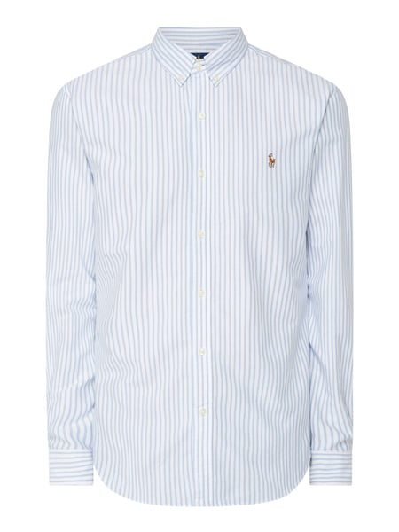 Polo Ralph Lauren Slim Fit Freizeithemd aus Oxford Blau - 1