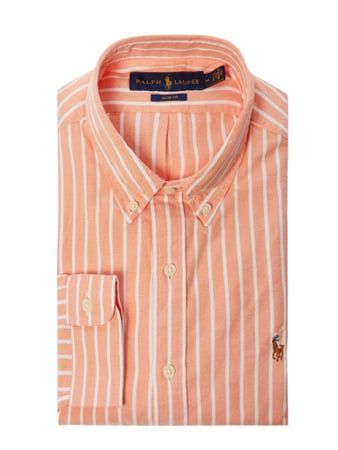 Polo Ralph Lauren Slim Fit Freizeithemd aus Oxford Orange - 1