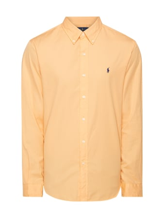 Polo Ralph Lauren Slim Fit Freizeithemd mit Button-Down-Kragen Orange - 1