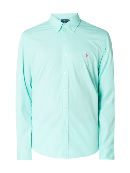 Polo Ralph Lauren Slim Fit Freizeithemd mit Button-Down-Kragen Grün