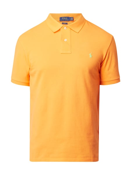Polo Ralph Lauren Slim Fit Poloshirt mit Logo-Stickerei Apricot