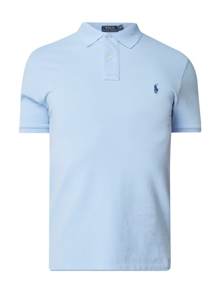 Polo Ralph Lauren Slim Fit Poloshirt mit Logo-Stickerei Bleu