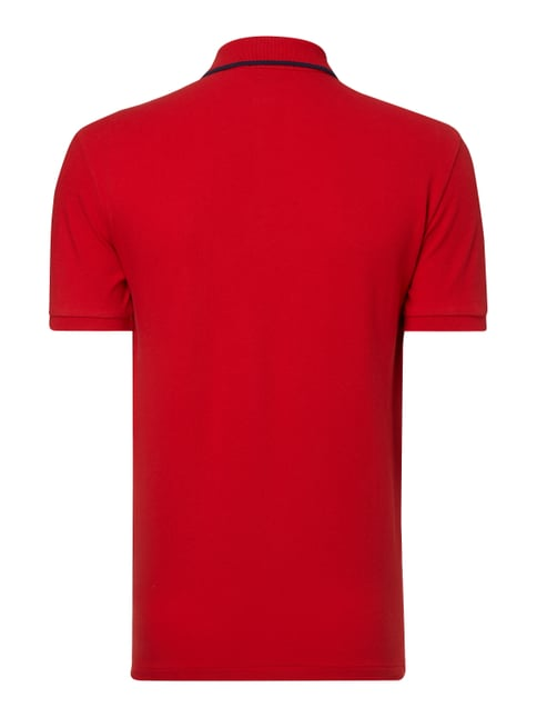 Polo Ralph Lauren Slim Fit Poloshirt mit Logo-Stickerei Rot - 1