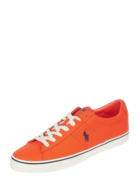 Polo Ralph Lauren Sneaker aus Canvas mit Logo-Stickereien Orange - 1