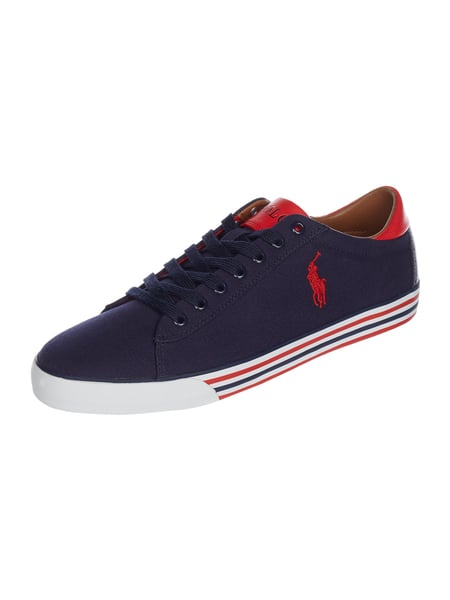 9c588dec5d27dd POLO-RALPH-LAUREN Sneaker  Harvey-Ne  aus Canvas in Blau   Türkis ...