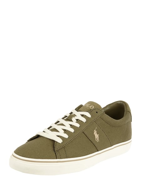 Polo Ralph Lauren Sneaker 'Sayer' aus Canvas Braun - 1